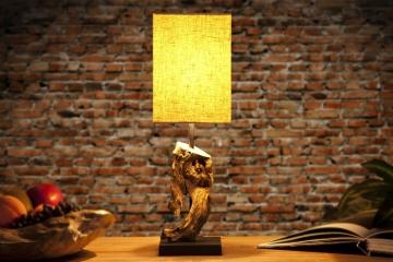 """Invicta Interior Tischlampe """"Hypnotic"""", beige"""