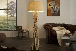 DuNord Design Treibholz Stehlampe DRIFTWOOD 155 cm sand - 1