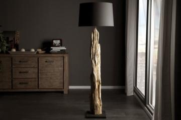 """Invicta Interior Stehlampe """"Rousilique"""", schwarz"""
