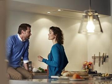 Philips LED Lampe E27, ersetzt 100 Watt, warm-weiß