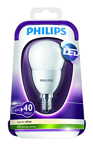 Philips LED Lampe E14, ersetzt 40 Watt, warm-weiß