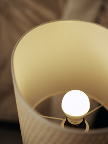 Philips LED Lampe E27 (Doppelpack), ersetzt 60 Watt, warm-weiß