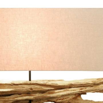 """Design Tischleuchte """"Libre"""" mit Wurzelfuß"""